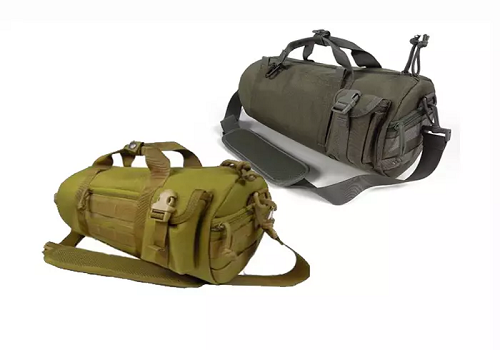 Molle barrel bag tactical shoulder bag
