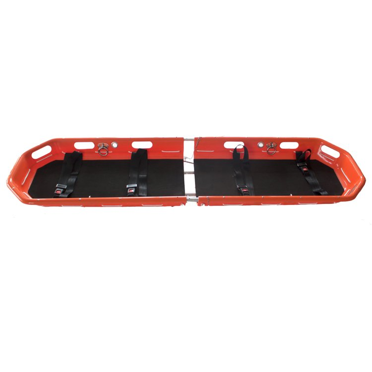 Rescue stretcher used when rescue personnel in certain situations