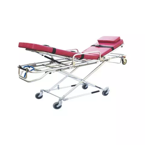 Hospital first aid Folding ambulance stretcher stainless