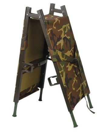 First aid military two foldable stretcher