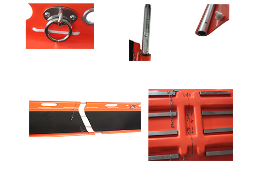 Helicopter Rescue Aluminum Basket Type Stretcher