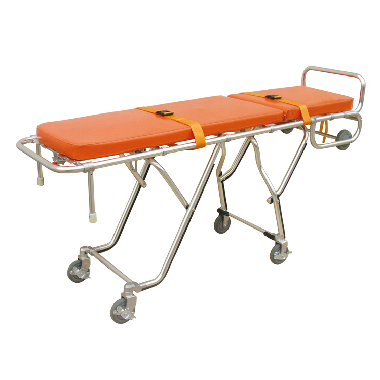 One-man Funeral mortuary Ambulance stretcher cot with cover