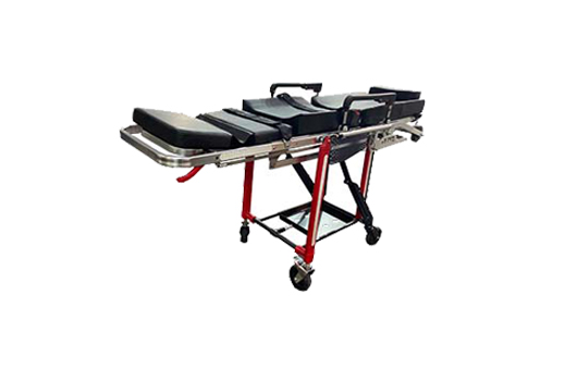 a new style roll-in chair cot which can be matched with the ambulance