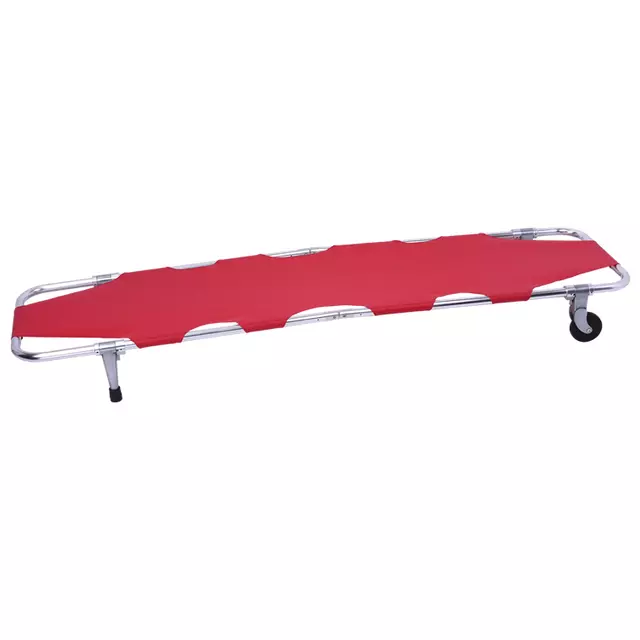 Collapsible camping emergency portable aluminum Steel folding stretcher