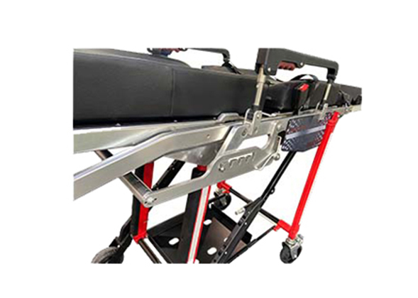new style roll-in chair cot which can be matched with the ambulance